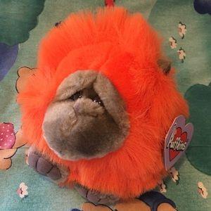 1998 Omar the Ape Puffkins Plush
